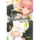 Las Quintillizas #02 Manga Oficial Norma Comics