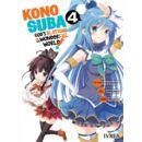 Konosuba #04 Manga Oficial Ivrea