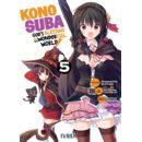 Konosuba #05 Manga Oficial Ivrea