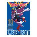 Dragon Quest Emblem of Roto #10 Manga Oficial Planeta Comic