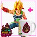 Pack Figure Bardock SSJ Figure Dragon Ball Z Posing Series + Mug Kongs of Suburbia