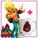Figura Gogeta SSJ Dragon Ball Super Match Makers + Taza Kongs of Suburbia