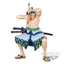 Roronoa Zoro Figure One Piece Super Master Stars Piece Original