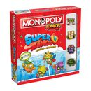 Monopoly Junior SuperZings Board Game * Spanish Edition *