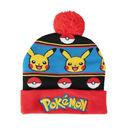 Gorro Beanie Pikachu Pokeball Pokemon