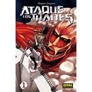 Ataque a los Titanes #01 Manga Oficial Norma Editorial (Spanish)