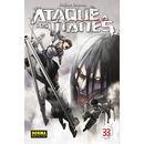 Ataque a los Titanes #33 Manga Oficial Norma Editorial