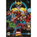 Poster Marvel Comics Infinity Retro 91,5 x 61 cms