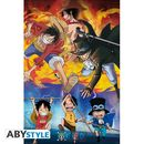 Ace Sabo Luffy Poster One Piece 91,5 x 61 cms