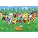 Poster Animal Crossing Line Up 91,5 x 61 cms