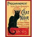 Poster Chat Noir 91,5 x 61 cms