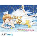 Sakura Poster Card Captor Clear 52 x 38 cms