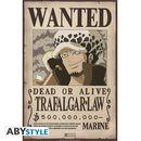 Trafalgar Law Wanted One Piece Poster 52 x 35 cms