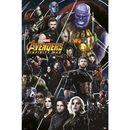 Poster Vengadores Infinity War 91,5 x 61 cms