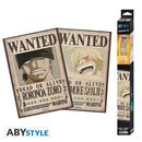 Zoro & Sanji Wanted One Piece Poster Set 52 x 35 cms