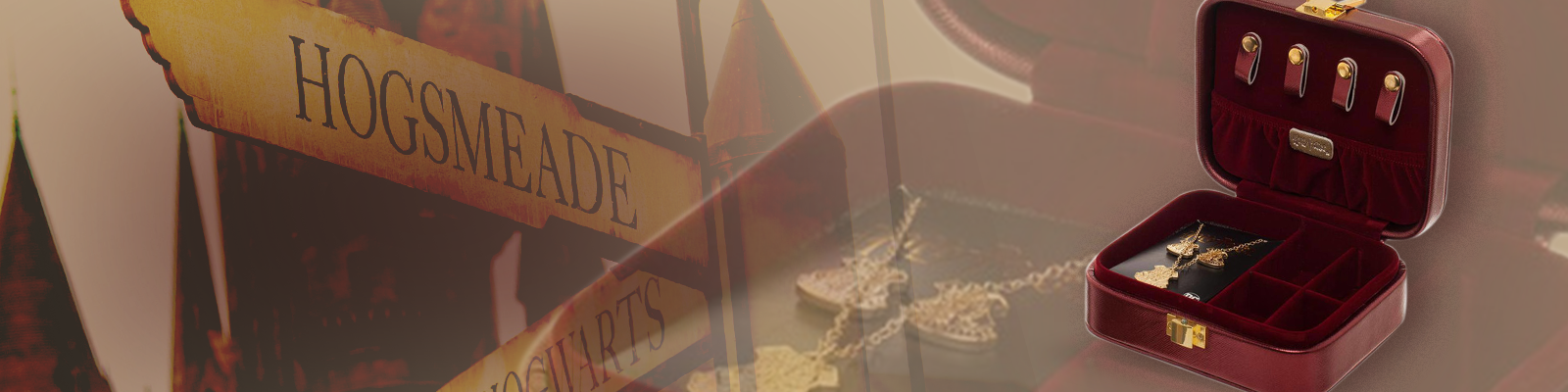 Jewelry Box + Hogwarts Set