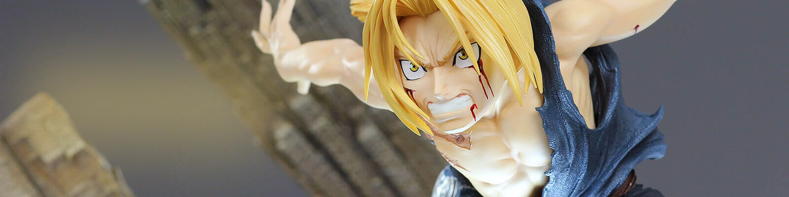 Estatua Edward Elric A fierce counter attack Fullmetal Alchemist