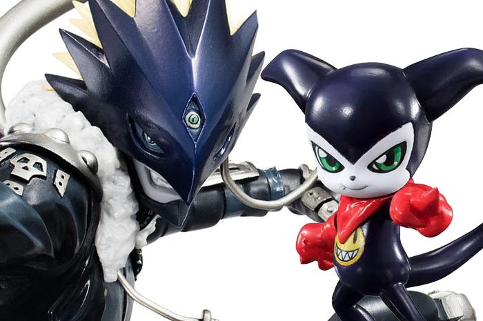 Beelzebumon & Impmon Digimon G.E.M.
