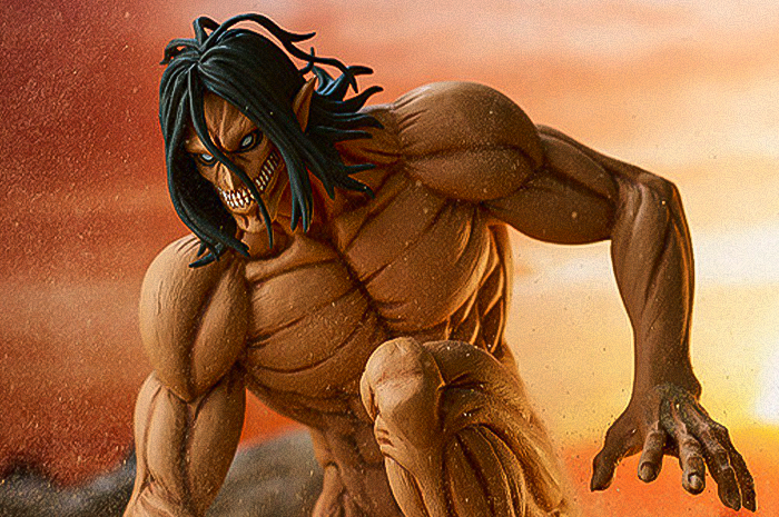 Eren Yaeger Rogue Titan ver