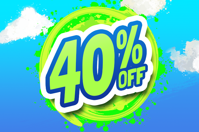 40%OFF products