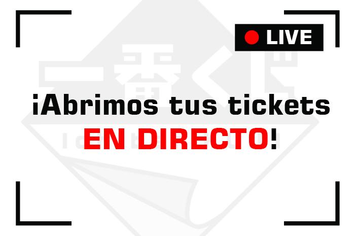 ¡Abrimos tus tickets en directo!