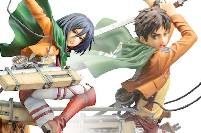 ARTFXJ Figure - Mikasa y Eren