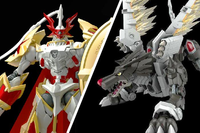Dukemon & Black Metalgarurumon - Model Kit Digimon Figure Rise Amplified