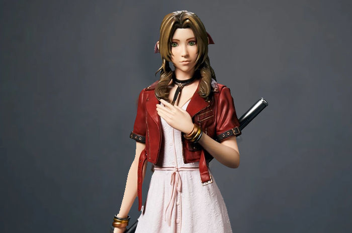 Figure Aerith Final Fantasy VII Remake
