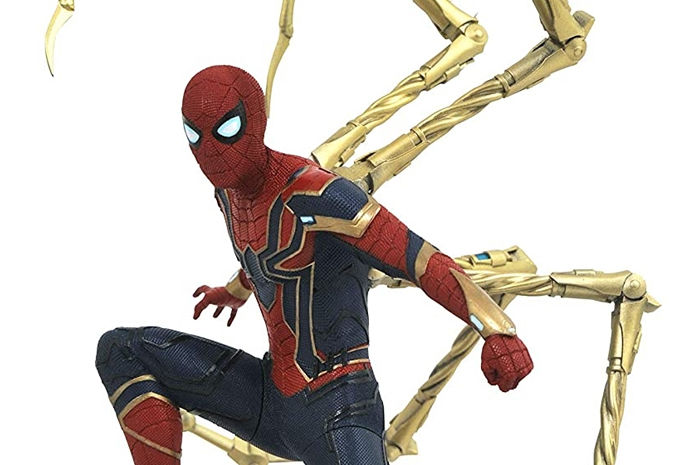 Iron Spider-Man Vengadores Infinity War Marvel Movie Gallery