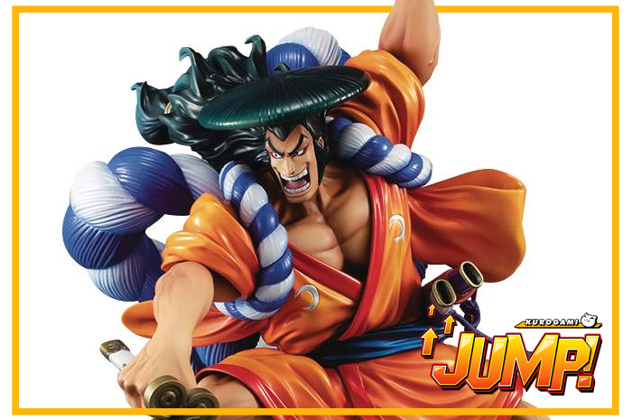 Oden Kozuki One Piece P.O.P. Warriors Alliance