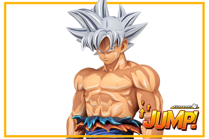 Son Goku Ultra Instinct Manga Dimensions Dragon Ball Super Grandista