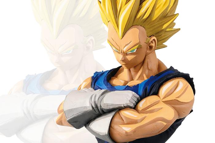 Vegeta SSJ Manga Dimensions Dragon Ball Z Grandista