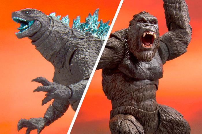 Godzilla VS Kong - SH MonsterArts