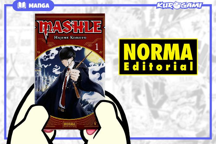 Norma Editorial: MASHLE #01