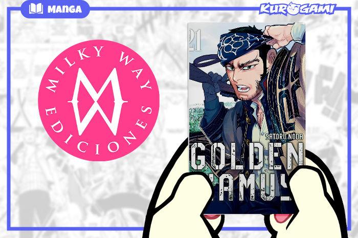 Milky Way Ediciones: Golden Kamuy #21