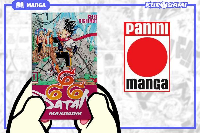Panini Manga: Maximum Satan 666 #01 (spanish)