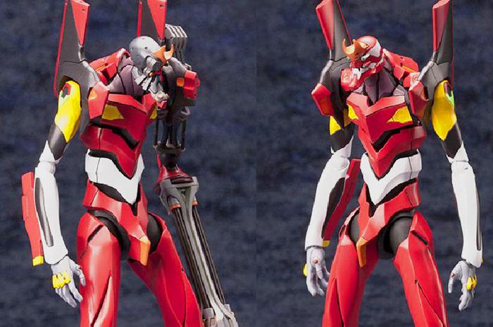 Model Kit Eva Unit 02 Neon Genesis Evangelion