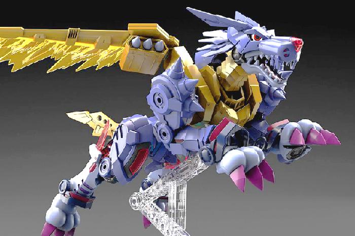MetalGarurumon Model Kit Digimon Adventure Figure Rise