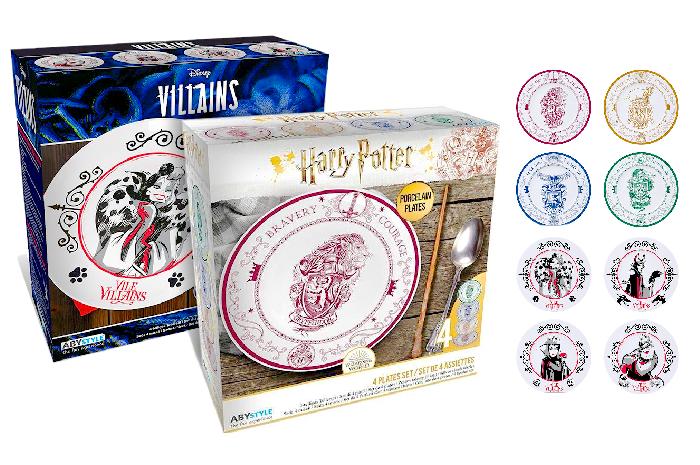 Platos Villanas Disney o Hogwarts