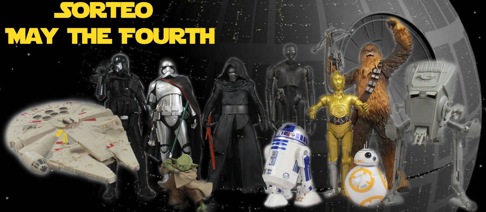 "Sorteo ""MAY THE 4TH"""