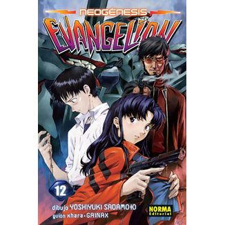 Neogénesis Evangelion #12 Manga Oficial Norma Editorial