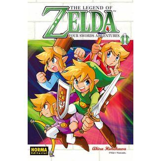 The Legend of Zelda #08 Four Swords #01 Manga Oficial Norma Editorial