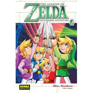 The Legend of Zelda #09 Four Swords #02 Manga Oficial Norma Editorial