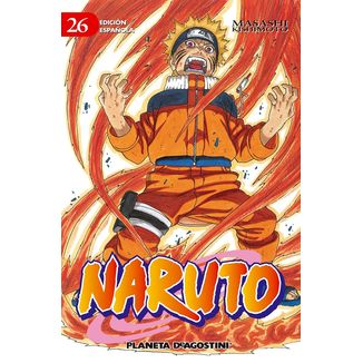 Naruto #26 Manga Oficial Planeta Comic