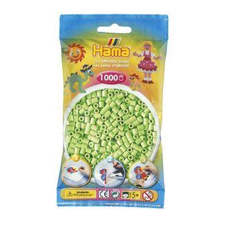 Bolsa de Hama midi verde pastel de 1000 piezas Nº 207-47