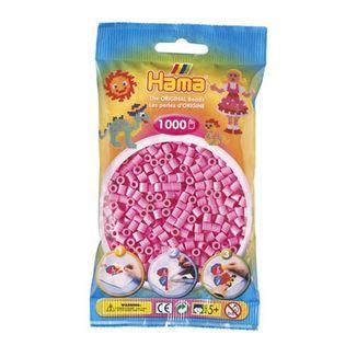 Bolsa de Hama midi rosa pastel de 1000 piezas Nº 207-48