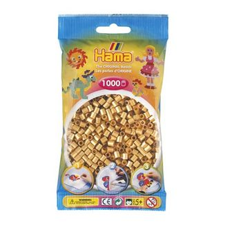 Bolsa de Hama midi oro de 1000 piezas Nº 207-61