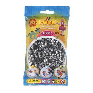 Bolsa de Hama midi plata de 1000 piezas Nº 207-62