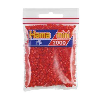 Hama Mini Bag Red 2000 pieces No. 501-05