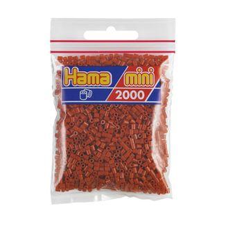 Hama Mini Bag light brown / reddish 2000 pieces No. 501-20